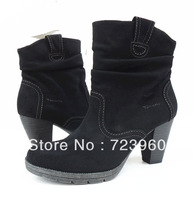New 2014 high heel boots for women boots platforms plus size women shoes woman fashion platform pumps thick heel martin boots