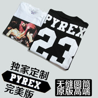 2013 summer pyrex23 cylincler tee pyrex kanye short-sleeve T-shirt men's clothing trend