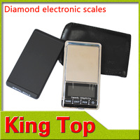 1Pcs/Lot Weightion 500g 0.01g Pocket Scale Pocket Said jewelry Scale jewelry Electronic Scales Balance Scale Free Shipping