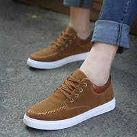 Autumn nubuck leather shoes male shoes low-top shoes breathable skateboarding shoes male shoes casual shoes
