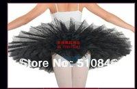 New Adult Platter Ballet Tutu Red classical ballet professional Platter hard organdy tutu SZ M/L Free shipping