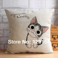 Free shipping home cushions,  car creative pillow, 100% natural cotton imports, vacuum packing