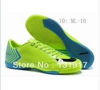 Free shipping  new athletic soccer shoes,Ronaldo football shoes,HyperVenom football boots men sports shoes