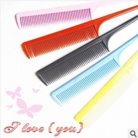 50pcs/lot, free shipping,Topsy Tail Hair Ponytail Styling women's hair comb,hairbrush,Hair Accessories Colorful wholesale