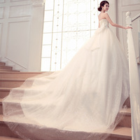 Special offer Mernaid sweetheart floor-length Tulle Sequined Wedding Dresses # HS6291