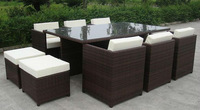 All Weather Rattan Outdoor Furniture Dining Set