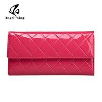 New Arrival Japanned leather women's long design wallet wallet women's clutch women's Handbag