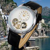 Brand New Jaragar men's 2013 watch flywheel table male mechanical watch casual male watch popular mens watch  Free Shipping