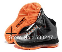 Free shipping Limited Edition Famous Player mens lebron 10 shoes basketball shoes Athletic discount name brand