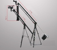 FREE DHL 320cm dv camera portable and foldable jib arm ,compact, lightweight and versatile camera arm