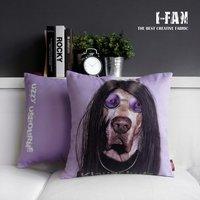 HOT!! NEW Creative  cute Long-haired dog cartoon plush pillow cushion cover car office home decoration sofa cushions 45cm*45cm