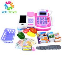 Joy multifunctional supermarket cash register cash desk toy child toy