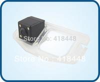 free shipping night vision waterproof  backup car rear view color ccd camera with IR 4 LED for 2011 honda civic