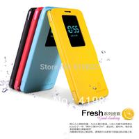 Genuine Brand NILLKIN Stander Flip Leather Fresh Wallet Cover Case Skin Back Cover For LG Optimus G2 D802