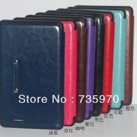 Wholesale for Asus 7-inch tablet Memopad ME172V protective shell bracket Crazy Horse pattern leather protective sleeve shipping