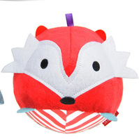 SKP baby soft cute animal toy Chime Ball - Fox