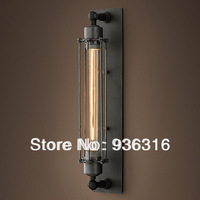 Free shipping american loft E27 edison wall lamp/vintage wall lamp/entranceway dining room wall light for home 220-240V