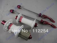 Free shipping ultralight bike hub A741SB/F742SB,Aluminum Freehub,3 Colors,fit V-Brake Hub,bicycle hub