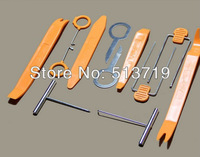 Car Radio Door Clip Panel Trim Dash Audio Removal Pry Tool Kit Plastic 12pcs/sets Free Shipping