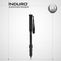 INDURO cm14 classic series portable travel carbon fiber horn frame slr camera monopod