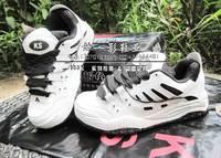 Ks skateboarding ks casual hip-hop professional cowhide lovers shoes