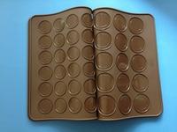 48Cavities double faced Silicone Macaron Mat/ macaroon mould /silicone macaron baking sheet free shipping