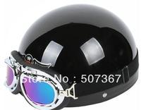 All black electric motorcycle helmets motorcycle helmet helmet send goggles brim