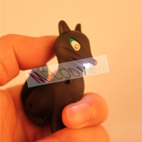 New Arrive LED Cartoon Fox Key Chain Volpone Toy with Voice Sounding Lowrie in Free shipping for Children