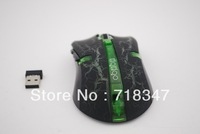 2013 Fashionable Multi Color USB Optical 2.4Ghz Wireless Mouse and Mice+Free Shipping