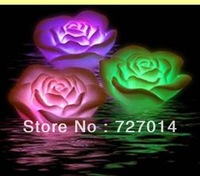 hot sale cheap  christmas waterproof rose floating light