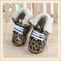 free shipping 2013 spring autumn infant 11cm-13cm gold leopard print comfortable non - slip child boots toddler baby shoes