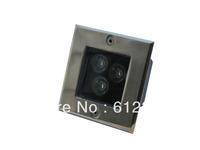 10pcs/lot Free Shipping 3w Square led underground light 85-265v led inground light outdoor spot lighting