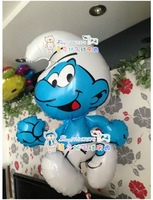Christmas Day Children Birthday party Cartoon blue boy balloons 1pc 50x80cm