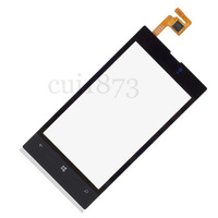 for Nokia Lumia 520 520T Panel Touch Screen Digitizer Glass Lens Replacement  +tools free shipping
