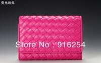 Top luxury Branded  multifunctional women lady wallet long design purse handbag free shipping
