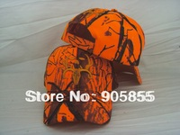 New Arrival Hunter orange hat hunting cap Headwear Free shipping by china air post
