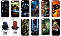 12pcs/lots New designs Star Wars hard white case cover for iphone 5 5th +free shipping