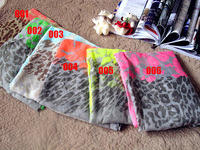 Leopard Grain Scarf Assorted Color Wholesale Free shipping 1Pcs