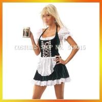 2013 Free shipping oktoberfest girl sexy women costume /woman halloween costume clothing set AEWC-0013