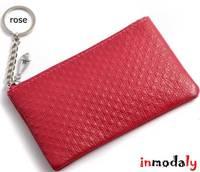 wholesale 50pcs/lot  Factory Cheap women designer brand leather wallet zipper women  hasp purse for cards, money, keys holders