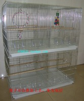 Double layer plating zinc big bird cage parrot cage cage Large thruputs bird cage