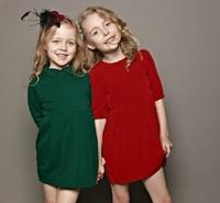 13 new monsoon children's wear autumn wear the dress of the girls