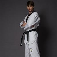 Kwon adult tae kwon do polyester cotton myfi taekwondo clothes