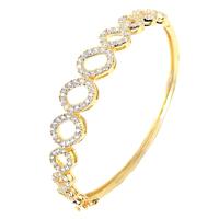 2014 Original design bracelet accessories Crystal in gold Female fashion jewelry bracelet love