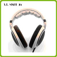 1Free shipping brand new high performance hd598 headphone HIFI headset with retail box