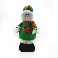 Christmas snowman cloth decorations Christmas 642 decoration