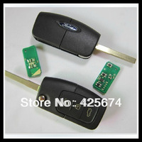 Free shipping for Ford Focus 3 Button Flip Remote Key HU101 Blade 434MHZ 4D-63 Chip Inside with the best price