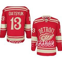 Free shipping 2014 Winter Classic Ice Hockey Jerseys Detroit Red Wings #13 Pavel Datsyuk Premier Jersey for Cheap