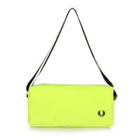 Fashion male women's small bag neon fashion male women's handbag canvas messenger bag