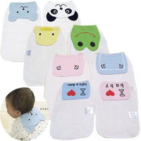 Child infant double layer gauze sweat absorbing towel geheyan hanjin pad sling